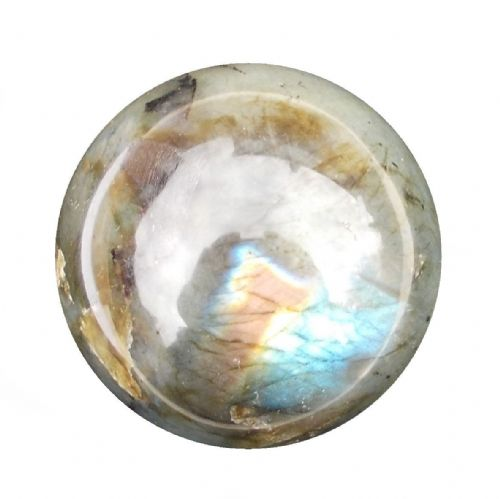 Labradorite Crystal Ball Scrying Divination Fortune Telling Sphere 53mm 220g LA2
